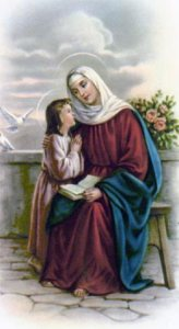 St. Anne, pray for us